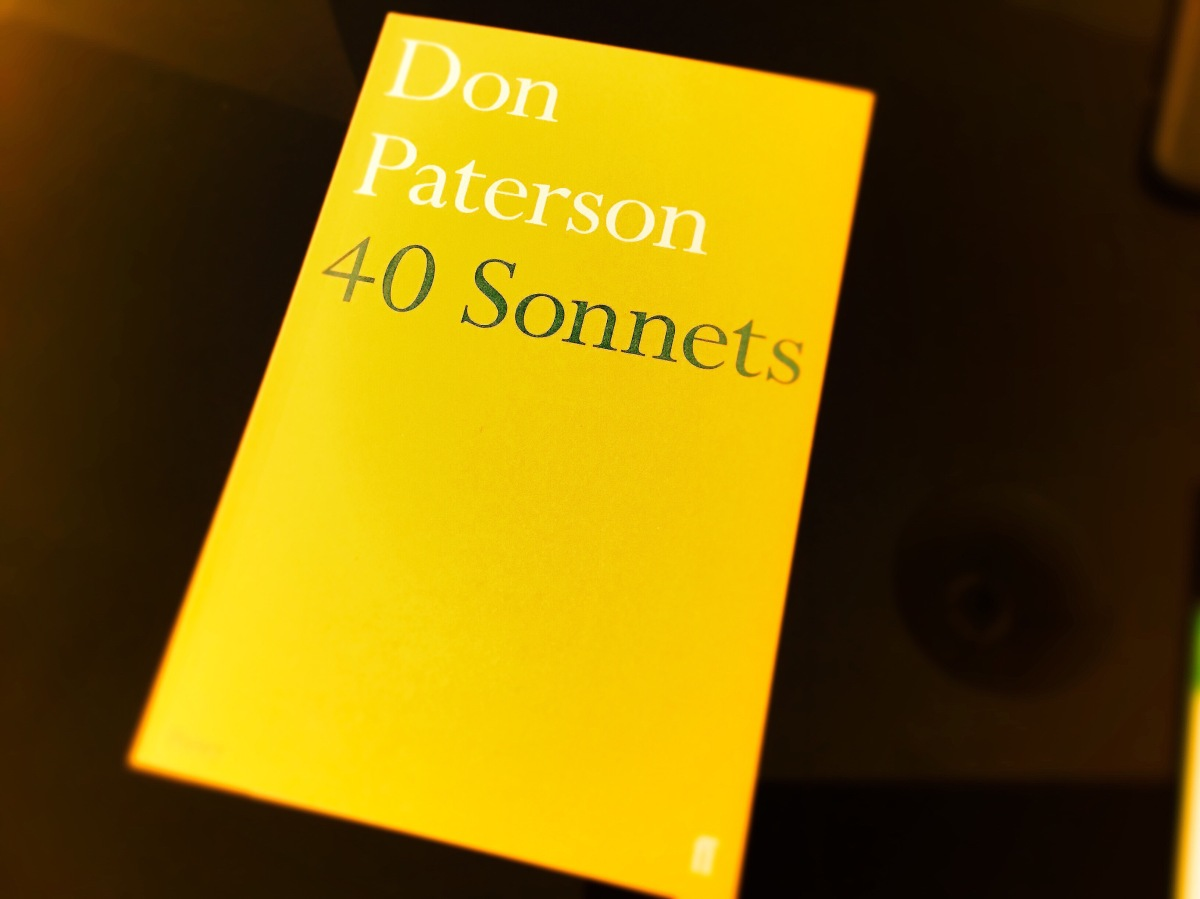 '40 Sonnets' by Don Paterson